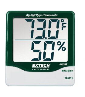 Extech 445703 Big Digit Hygro-Thermometer