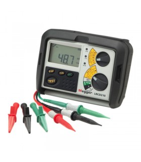 Megger LRCD210 and LRCD220 Combined Loop & RCD Testers