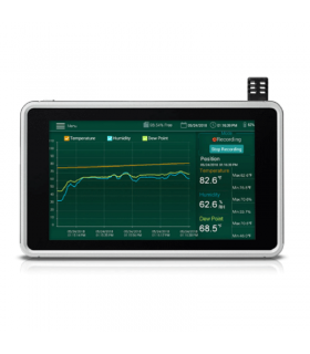 Extech RH550 Humidity/Temperature Chart Recorder with Touch Screen